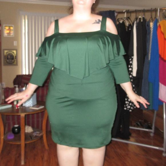 Dress Lily Dresses Plus Size Green Body Con Dress Poshmark
